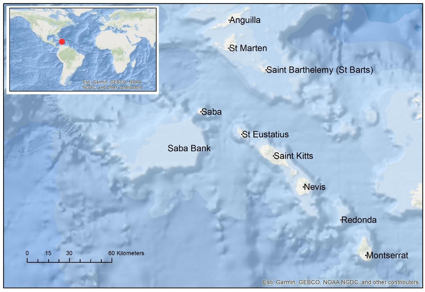 Map Saba Bank