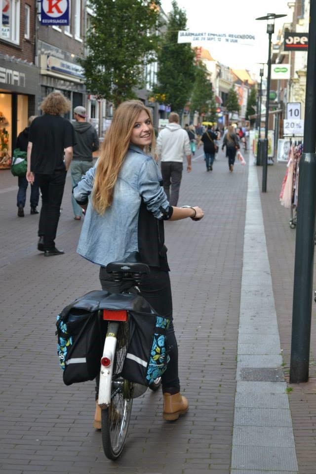 cycling Wageningen iGem