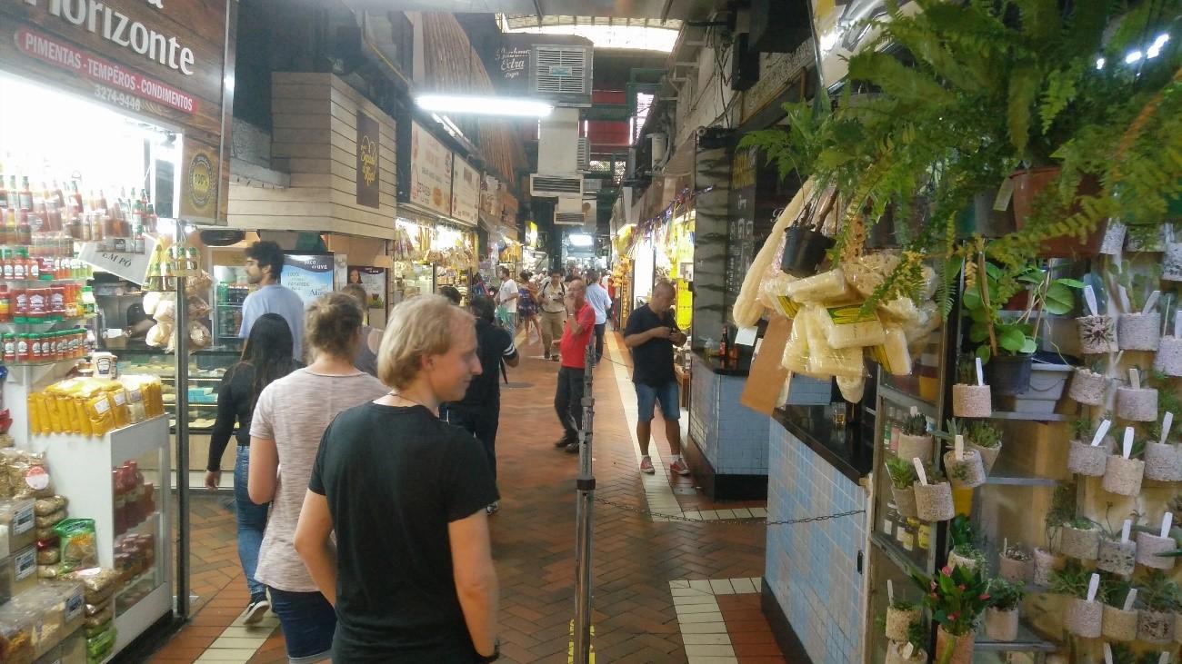 Underground central market