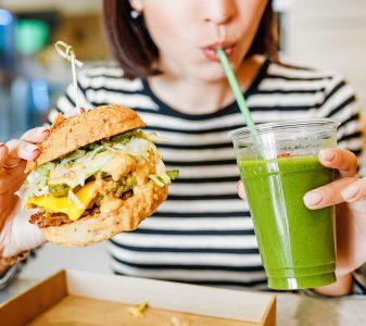 vegan burger plant based proteins